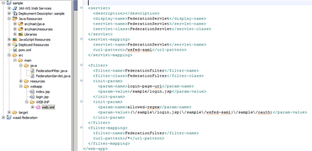 Inside the Windows Azure Active Directory Web SSO Sample for Java